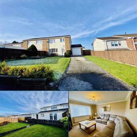 3 bedroom semi-detached house for sale - Clos Trafle, Gowerton, Swansea