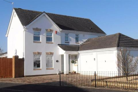4 bedroom detached house for sale - Westward Rise, Garden Suburb, Barry