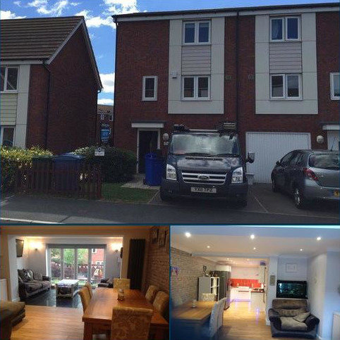 4 bedroom terraced house to rent - Constable Way,