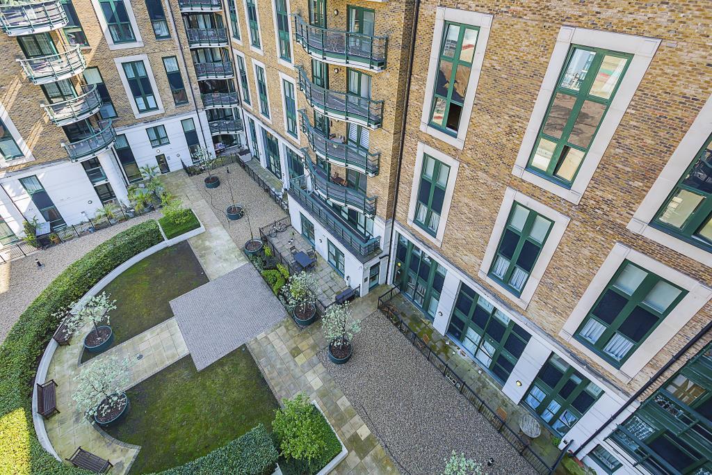 Joutside building balcony view