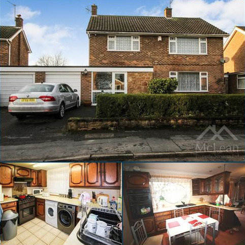 4 bedroom detached house to rent - Shepherdswood Drive, Aspley, Nottingham NG8