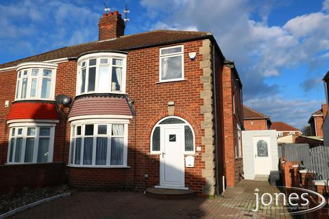 3 bedroom semi-detached house for sale - Saxby Road, Norton, Stockton on Tees, TS20 2HT