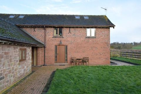 1 bedroom barn conversion to rent - Fairoak, Loggerheads