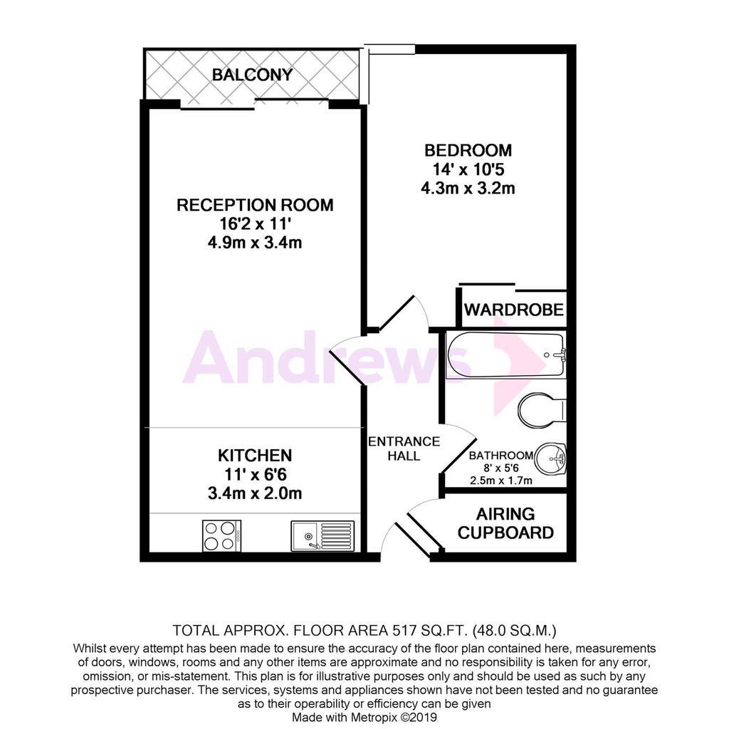 Floorplan: 105 Thomas Court