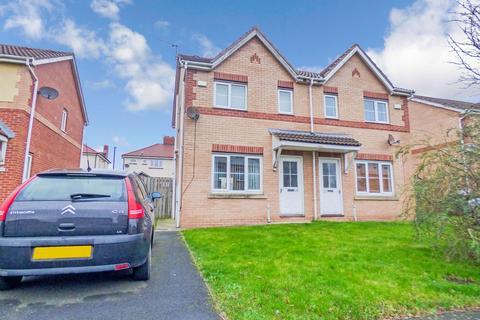 2 bedroom semi-detached house for sale - Brahman Avenue, North Shields, Tyne and Wear, NE29 6UD