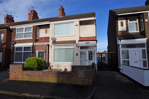 3 bedroom end of terrace house for sale - Stephenson Street, Hull, HU9