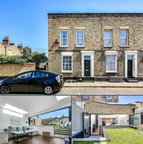 4 bedroom end of terrace house to rent - Barnes Street, London, E14