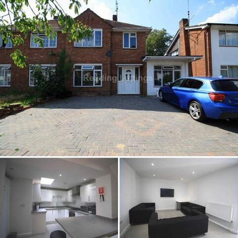 7 bedroom semi-detached house to rent - Harcourt Drive, Reading