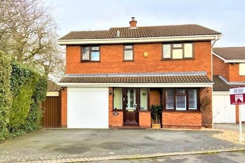 4 bedroom detached house for sale - Waldeve Grove, Solihull, West Midlands
