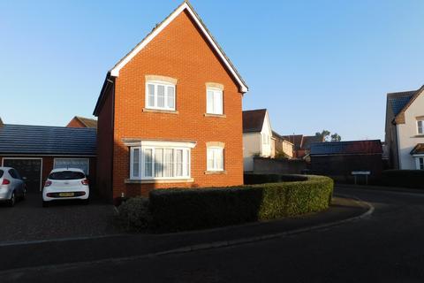 3 bedroom detached house for sale - Dunnock Close, Stowmarket