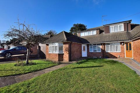 3 bedroom semi-detached bungalow for sale - CHALET STYLE BUNGALOW! THREE bedrooms, TWO reception rooms, NO CHAIN!
