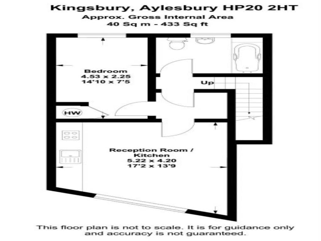 Floorplan: Kingsbury aylesbury hp20 2ht USE smaller