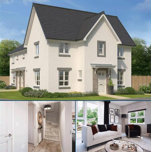 3 bedroom end of terrace house for sale - Plot 44, Abergeldie at Huntingtower, 1 Charolais Lane, East Huntingtower, Perth PH1