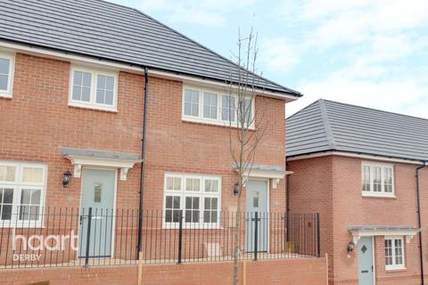 2 bedroom end of terrace house for sale - Eyebright Close, Mickleover