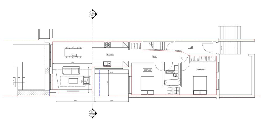Floorplan 2 of 4: Proposed Ground Floo