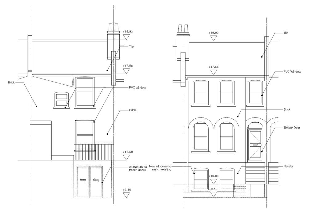 Floorplan 4 of 4: Proposed Elevations