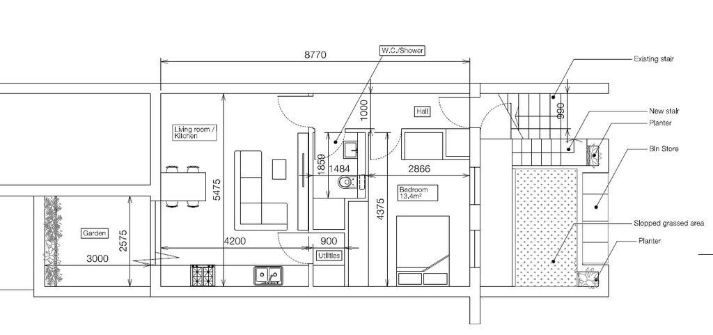 Floorplan 1 of 4: Proposed Basement