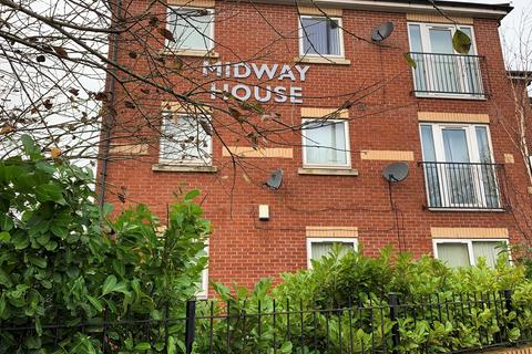2 bedroom flat for sale - Midway House, 409 Cheetham Hill Road, Manchester, M8 0PW