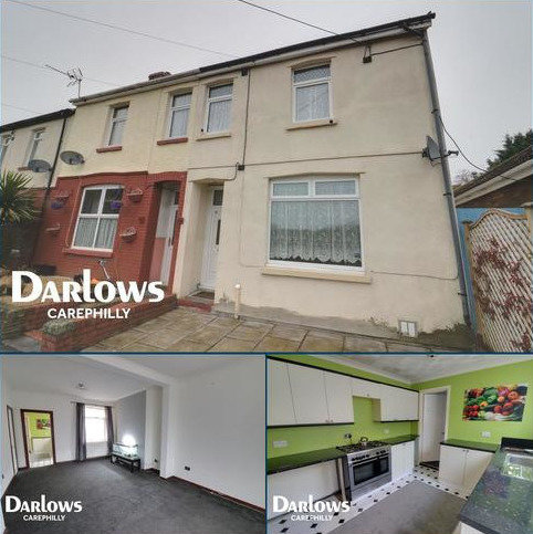 3 bedroom end of terrace house for sale - Energlyn Crescent, Caerphilly