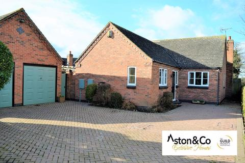 3 bedroom detached bungalow for sale - Mill Road, Rearsby, Leicestershire