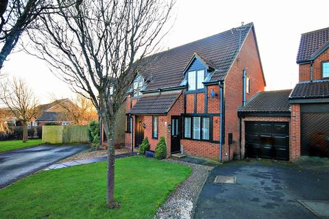 2 bedroom semi-detached house for sale - Hadleigh Court, Coxhoe, Durham