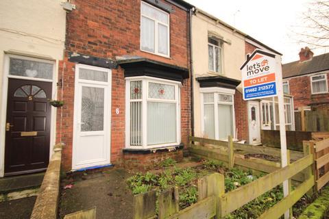 2 bedroom terraced house to rent - Western Villas, Rosmead St, Hull, HU9