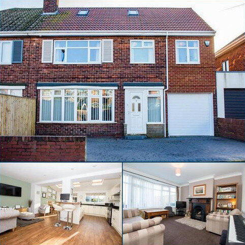 4 bedroom semi-detached house for sale - Ealing Drive, Tynemouth