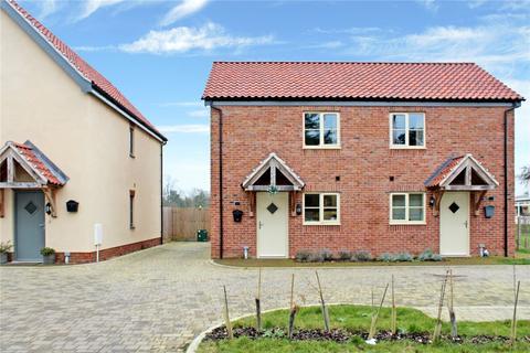 1 bedroom semi-detached house for sale - The Street, Bergh Apton, Norwich, Norfolk, NR15