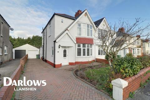 3 bedroom semi-detached house for sale - Heol Iscoed, Rhiwbina, Cardiff, CF14