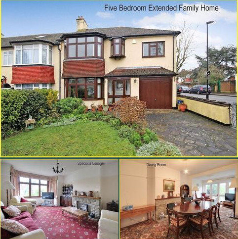 5 bedroom semi-detached house for sale - Spring Park Road, Shirley