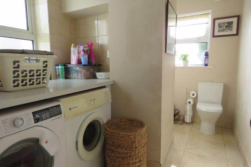 Utility room and...