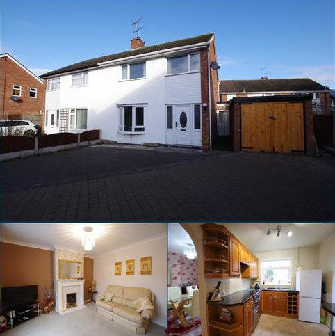 3 bedroom semi-detached house for sale - Richmond Close, Stafford