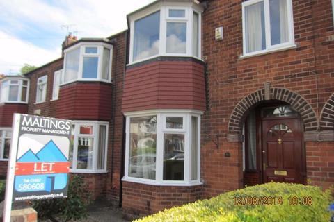 3 bedroom terraced house to rent - 26 Pulcroft Road, Hessle, HU13 0NE