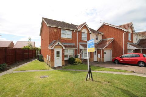 2 bedroom end of terrace house for sale - Templeton Close, Highfields, Hartlepool