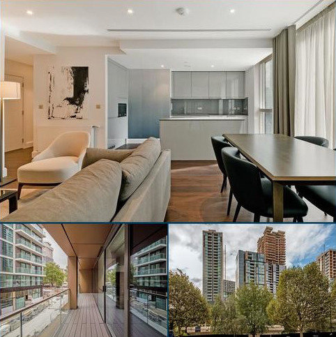 2 bedroom flat to rent - Ostro Tower, Harbour Way, Canary Wharf, London, E14