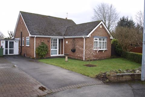 2 bedroom detached bungalow for sale - Windsor Close, Cuddington, CW8 2LQ