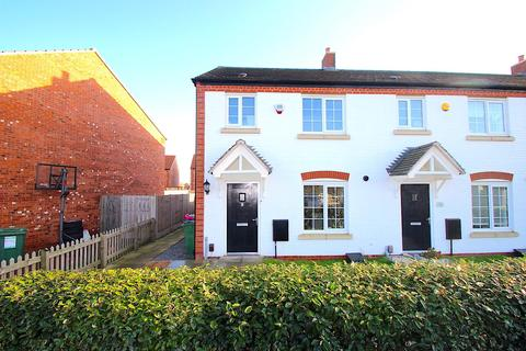 3 bedroom end of terrace house for sale - Kirkwood Close, Leicester Forest East