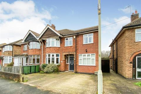 4 bedroom semi-detached house for sale - Oakcroft Avenue, Kirby Muxloe, Leicester