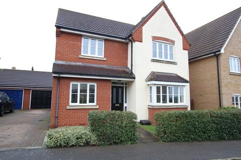 4 bedroom detached house for sale - Linnet Drive, StowmarkeT, Suffolk IP14