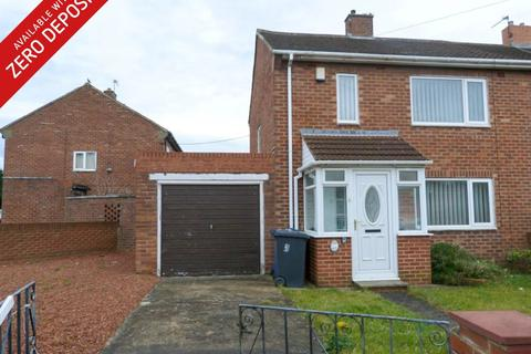 2 bedroom semi-detached house to rent - Henderson Road, South Shields