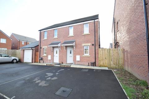 2 bedroom semi-detached house for sale - 12 Maes Brynach, Brynmenyn, Bridgend, Bridgend County Borough, CF32 9NA