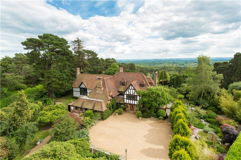 8 Bedrooms Detached House for sale in Camp End Road, St. George's Hill, Weybridge, Surrey, KT13