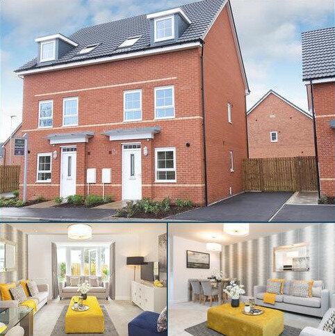 3 bedroom end of terrace house for sale - Plot 94, Padstow at J One Seven, Old Mill Road, Sandbach, SANDBACH CW11