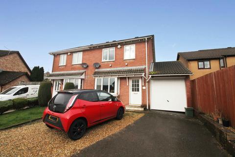 3 bedroom semi-detached house for sale - Hibiscus Court, Llantwit Fardre, CF38 2NQ