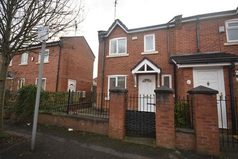3 bedroom end of terrace house to rent - Ribston Street, Hulme, Manchester, M15 5RH