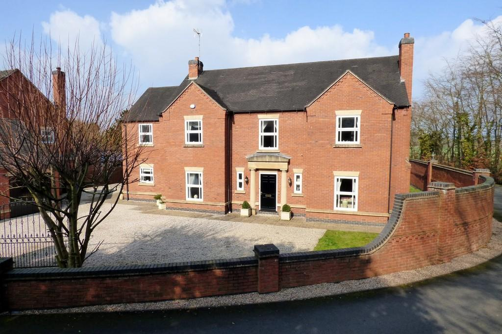 5 Bedrooms Detached House for sale in Crakemarsh Hall, Crakemarsh, Uttoxeter