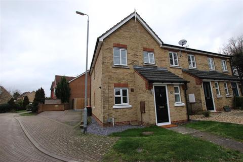 2 bedroom end of terrace house to rent - Portland Ride, Houghton Regis