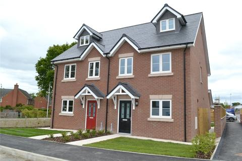 3 bedroom semi-detached house for sale - Plot 8 Dolforgan View, Kerry, Newtown, Powys, SY16