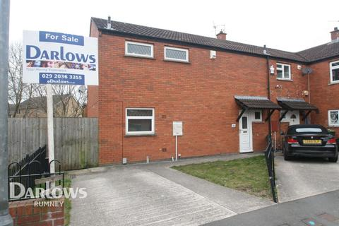 3 bedroom end of terrace house for sale - Crumlin Drive, Cardiff