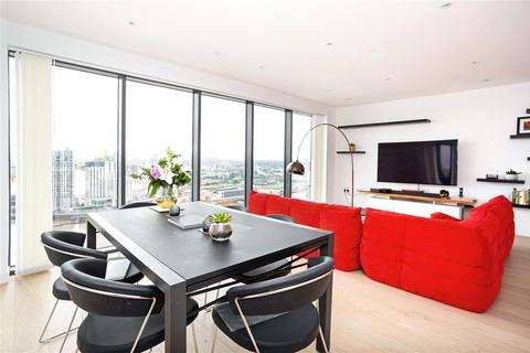 2 bedroom flat for sale - Horizons Tower, 1 Yabsley Street, Canary Wharf, London, E14